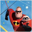 "Disney/Pixar Incredibles 2 5"" Beverage Napkins, 16-Pack"