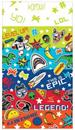 "Epic Party 54""x102"" Plastic Table Cover"