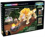 Laser Pegs 220 Piece Light Up Construction Set | Triceratops Charge