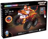 Laser Pegs 255 Piece Light Up Construction Set | Shredder Monster Truck