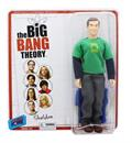 "Big Bang Theory Sheldon (Green Lantern/ Superman) Retro Clothed 8"" Figure"