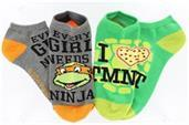 Teenage Mutant Ninja Turtles Ankle Socks 2-Pack