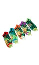 Teenage Mutant Ninja Turtles Character Ankle Socks 5 Pair