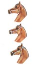 Breyer 1:9 Model Horse Accessory Set: Nylon Halters (Hot Colors)