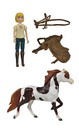 Spirit Riding Free Small Horse and Doll Set: Boomerang and Abigail