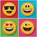 "Show Your Emojions 6.5"" Paper Luncheon Napkins: 16 Count"
