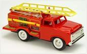 "Vintage Style 5.75"" Tin Fire Truck"