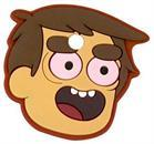 Bravest Warriors Key Cover Cap No Eyelids Danny Accessory
