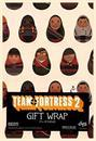 "Team Fortress 2 Gift Wrap 27"" x 39"""
