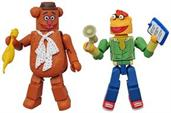 Muppets Minimates Series 1 2-Pack: Fozzie Bear & Scooter