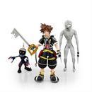 Kingdom Hearts 2 Action Figures Collection Set | Includes Sora, Dusk, & Soldier