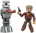 Lost in Space Dr. Smith and B9 Robot 2-Pack Minimates Figure