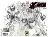 Sdcc 2008 Astonishing X-Men #25 Sketch Variant