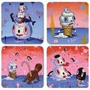 Gary Baseman 4-Piece Coaster Set