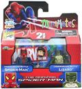 Amazing Spider-Man Exclusive Minimates 2 Pack - Sewer Battle Spider-Man & Lizard