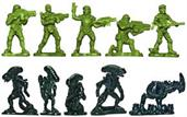 Aliens vs Colonial Marines Plastic Army Men 10-Pack