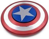 Captain America Aluminum Fidget Spinner Shield