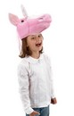 Unicorn Plush Pink Unicorn Costume Hat