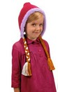 Frozen Disney Anna Laplander Child Costume Knit Hat