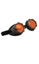Steampunk CyberSteam Costume Goggles Gold Orange Adult