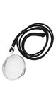 Steampunk Silver Costume Monocle Adult