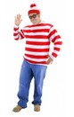 Where's Waldo Adult Costume Kit