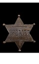 Sheriff Star Badge Costume Accessory
