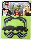 Pixel-8 Costume Moustache Set