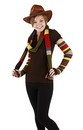Doctor Who 4th Doctor Arm Warmers: Multicolor