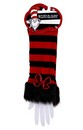 Dr. Seuss Cat In The Hat Fuzzy Costume Glovettes Adult