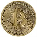 Bitcoin Bronze Plated Commemorative Collector's Coin