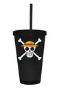 One Piece Jolly Roger 16oz Travel Cup