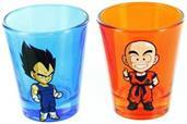 Dragonball Z  2-Piece Shot Glass Set Vegeta and Kuririn