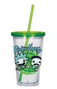 Rick and Morty 16 oz Travel Cup