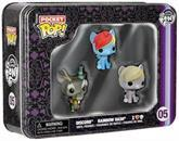 My Little Pony Funko Pocket POP Vinyl Figure 3-Pack Tin Dash, Discord, and Derpy