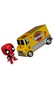 Marvel Funko POP Rides Vinyl Figure Deadpool's Chimichanga Truck
