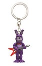 "Five Nights at Freddy's 1.5"" Character Keychain: Bonnie"