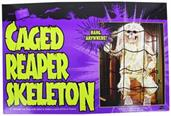 Caged 27 Inch Reaper Skeleton Halloween Prop Decoration