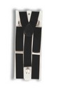 White Adult Costume Suspenders