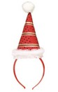Mini Santa Hat Headband Costume Accessory Adult