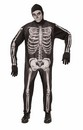 Skeleton Jumpsuit Costume Adult Men
