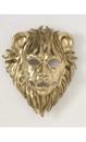 Golden Lion Animal Mask W/ Elastic Band One Size