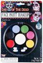 Day Of The Dead Costume Makeup Kit