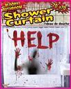 Bloody Bathroom Shower Curtain Halloween DÃcor