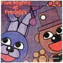 "Five Nights at Freddy's 10"" Square Beverage Napkins, 16 Count"