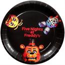 "Five Nights At Freddy's 9"" Round Paper Plates 8ct"