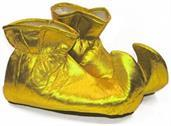 Christmas Elf Cloth Costume Shoes: Gold