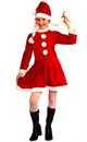 Lil Ms Santa's Helper Deluxe Costume Child