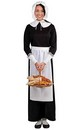 Thanksgiving Pilgrim Woman Costume Accessory Set Adult One Size