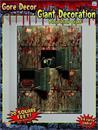 20 Square Ft Morgue Wall Backdrop Halloween Party Decoration